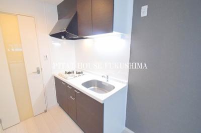 【キッチン】モダンアパートメント梅田North