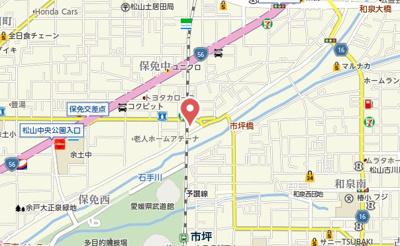 【地図】プラムガーデン Sin