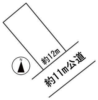 【区画図】55595 岐阜市茶屋新田土地