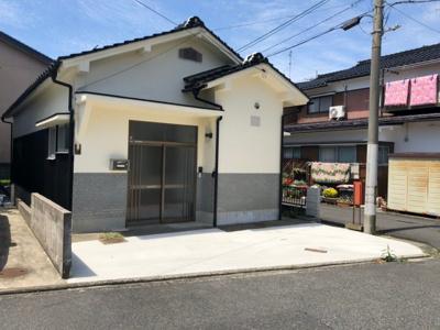 【外観】鳥取市相生町二丁目中古戸建て