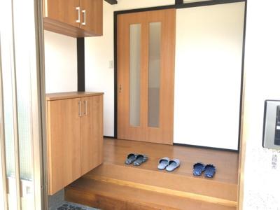 【玄関】鳥取市相生町二丁目中古戸建て