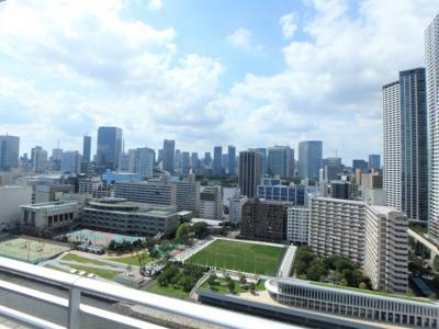 【展望】ザ・晴海レジデンス 最 上階 20階 勝どき駅10分 リ ノベーション