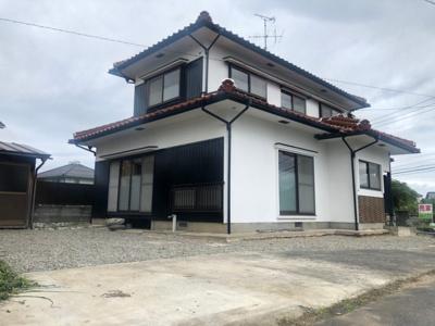 【外観】鳥取市湖山町南二丁目中古戸建て