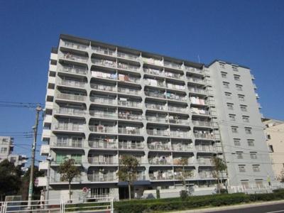【外観】日商岩井小島町マンション 10階 角部屋 リノベーション済 空室