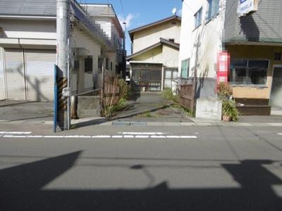 【外観】平川市津軽尾上駅前土地