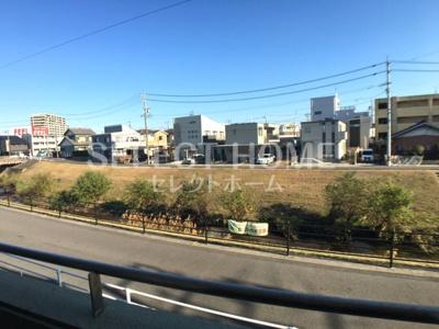 【展望】RIVERSIDE INN柱
