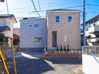 千葉市花見川区作新台 新築一戸建て ※令和3年2月撮影写真です。