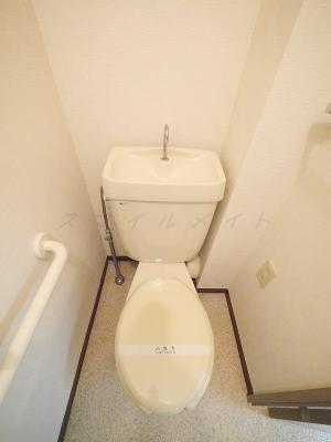 【トイレ】りぶいんしらゆり虹 1号棟