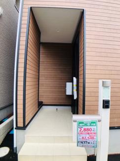 【玄関】裾野市二ツ屋 新築戸建 3号棟