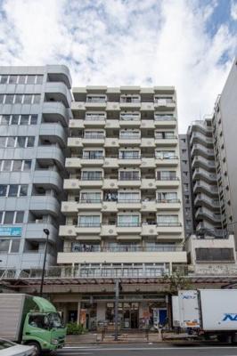 【外観】ライオンズマンション亀戸 8階 リフォーム済