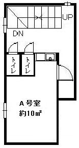 【間取り】谷町コンパクトオフィス