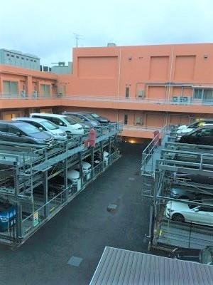【駐車場】レーベン平井ヴェネージオ 4階 2013年築 リフォーム済