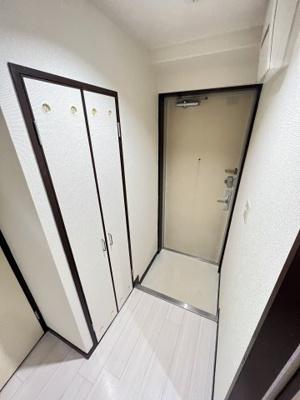 【玄関】五条セフィーマンション