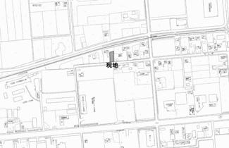 【地図】東相内町 売土地