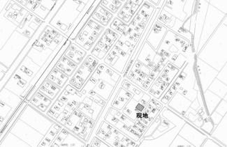 【地図】端野町三区 売土地
