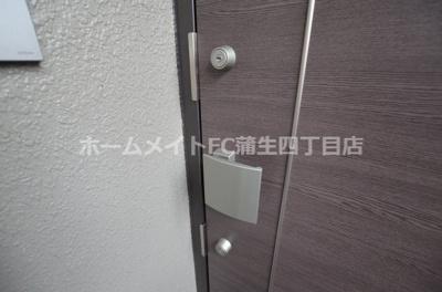 【玄関】コスモツインパレス