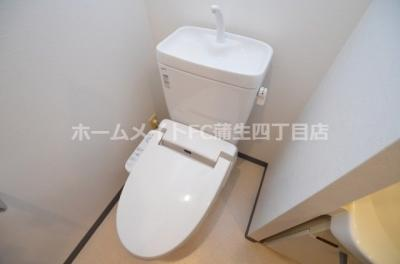【トイレ】エス・キュート城東中央