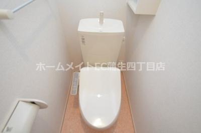 【トイレ】ソレイユ今福