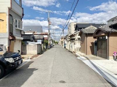 【前面道路含む現地写真】クロワールタウン寿町