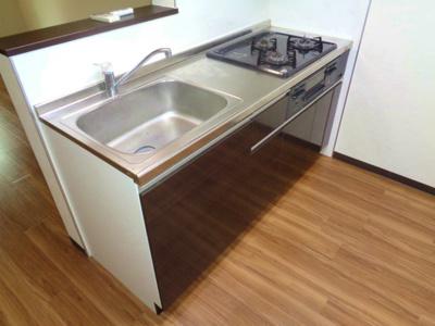 【キッチン】ロータスコートⅢ