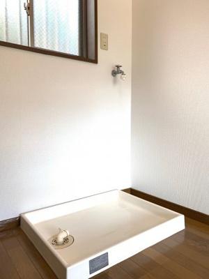 洗濯機は室内置き可能です(^^)/