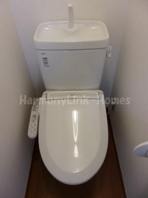 フェリスセジールのトイレもきれいです☆
