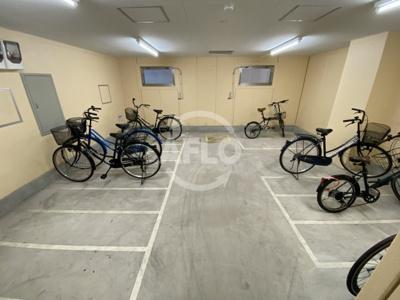 サンライフコート都島 駐輪場