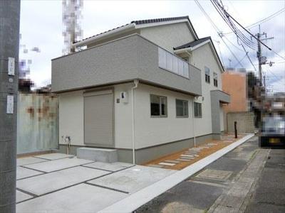 【外観】浄土寺下南田町 新築一戸建 2020年5月完成 長期優良住宅