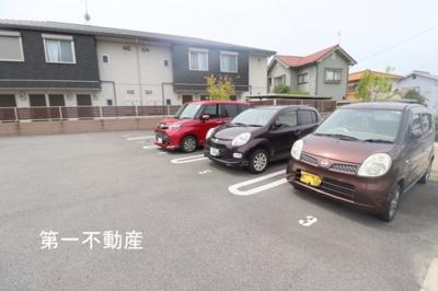 【駐車場】シャーメゾン ヒメコウ ライグリーン
