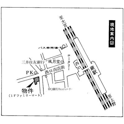 【地図】メゾン・ド・アストラ