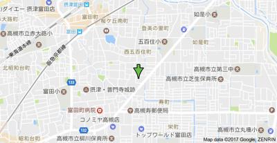 【地図】クローバーМオザキ B棟 (株)Roots