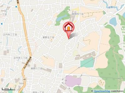 【地図】メゾン・エントピアⅡ・