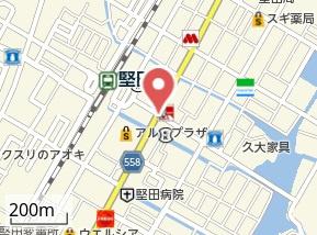 【地図】グランドムール大津堅田