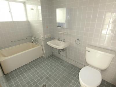【浴室】翁長アパート