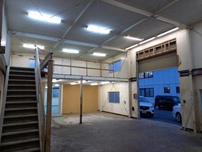 1階の倉庫部分です