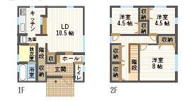 長木川南・建売住宅 A区画 月々49,623円~