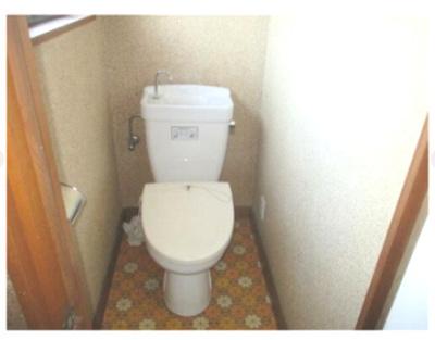【トイレ】中央市山之神 中古住宅