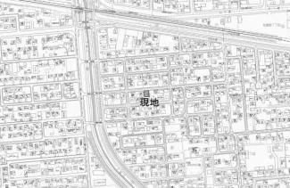 【地図】西富町3丁目 新築戸建