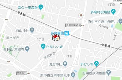 【地図】レオパレスレジデンス(39998-101)