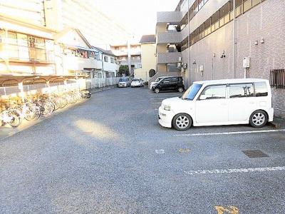 【駐車場】昭島コートエレガンスA棟