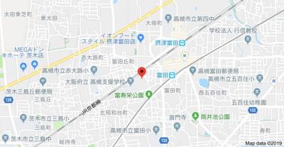 【地図】翠ヶ丘団地2号棟