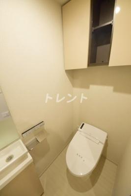 【トイレ】ピアース神楽坂レジデンス