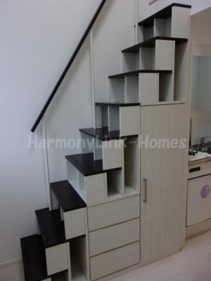 ハーモニーテラス池袋Ⅱの収納付き階段★