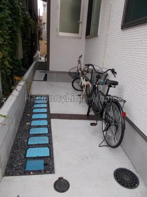 ハーモニーテラス池袋Ⅱの駐輪スペース☆