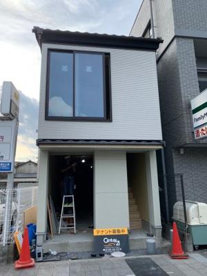 【外観】七条堀川一棟店舗