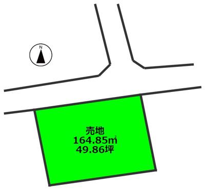 【外観】吉村町 売地