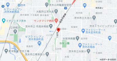 【地図】フジハイツ