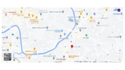 【地図】三原パーキング