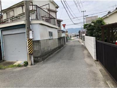 【前面道路含む現地写真】和歌山市松島 売土地
