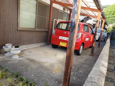 【駐車場】鳥取市青葉町1丁目中古戸建
